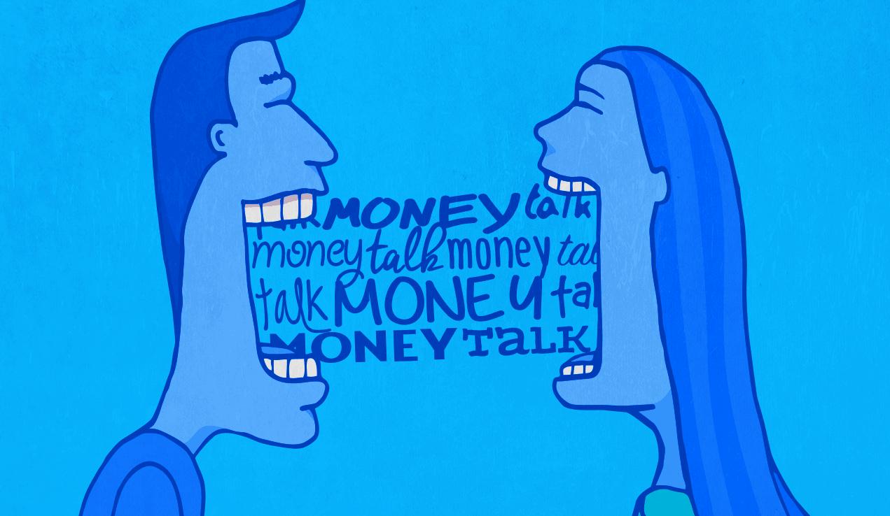 Es importante hablar con su pareja sobre el dinero