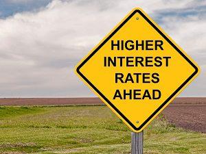altas tasas de interes