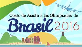 Costo Asistir a las Olimpiadas de Brasil
