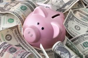 dinero ahorro piggy bank cochinito