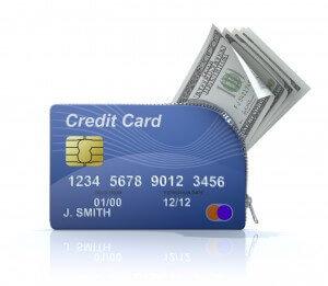 dinero en efectivo y tarjetas