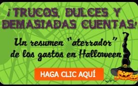 Gráfica de Halloween 2014: Trucos, golosinas y demasiadas facturas