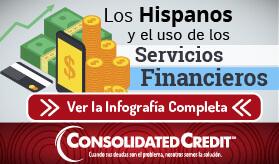 Los hispanos y el uso de los servicios financieros