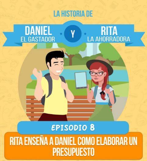 Episodio 8: Rita enseña a Daniel como elaborar un presupuesto