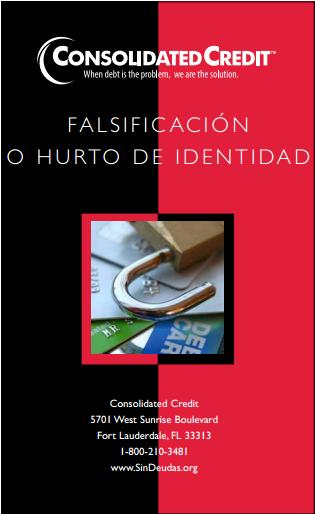 FALSIFICACIÓN O HURTO DE IDENTIDAD Folleto