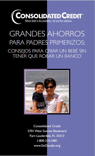 GRANDES AHORROS PARA PADRES PRIMERIZOS: consejos para criar un bebé sin tener que robar un banco Folleto