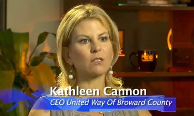 Kathleen Cannon, CEO of United Way of Broward County