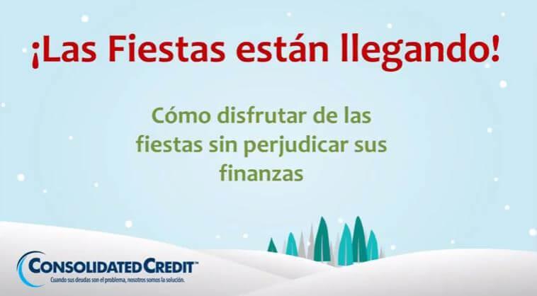 imagen con texto sobre cómo disfrutar la navidad sin arruinar sus finanzas
