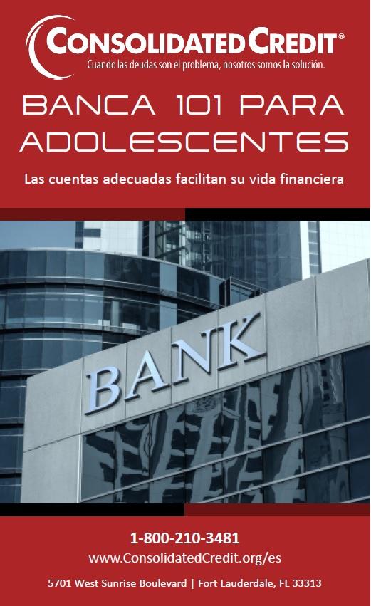 Las cuentas de de banco adecuadas facilitan el manejo del dinero. Esta guía ayuda a los jóvenes a aprender los conceptos básicos de la banca.