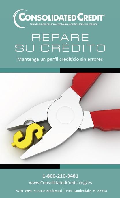 Repare su crédito - folleto