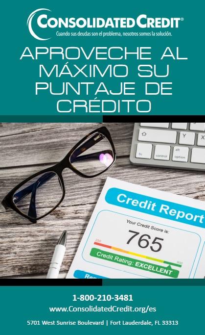 Aproveche al máximo su puntaje de crédito