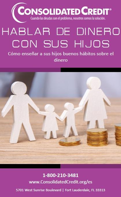 Hablar con sus hijos sobre el dinero con regularidad y de la manera correcta fomenta una vida de buenos hábitos financieros.