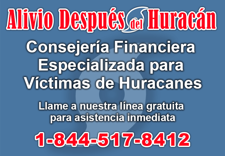 Alivio para victimas de desastres