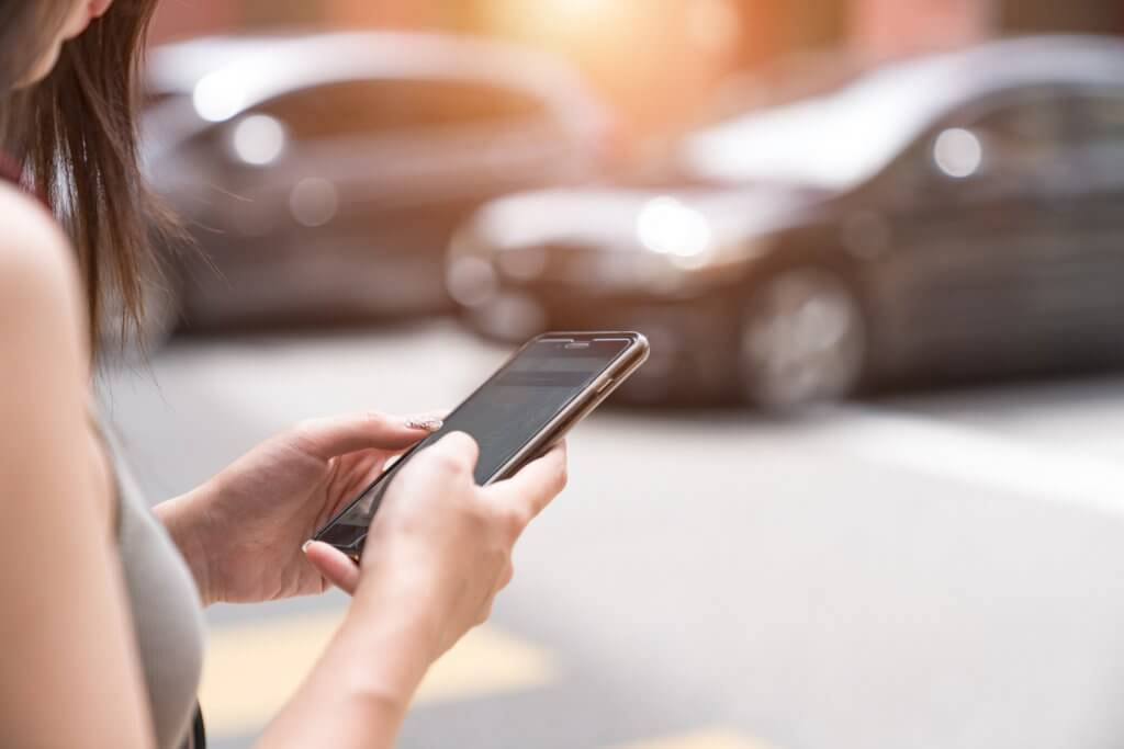 tarjetas de crédito de los servicios de taxis Uber y Lyft