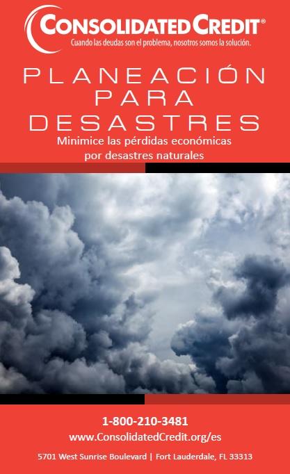 Planeación de desastres - folleto