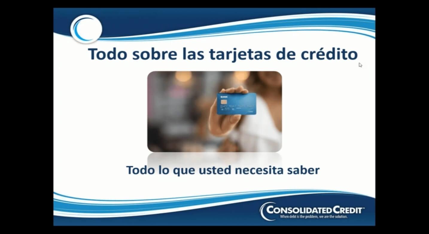Webinar: Todo sobre las tarjetas de crédito