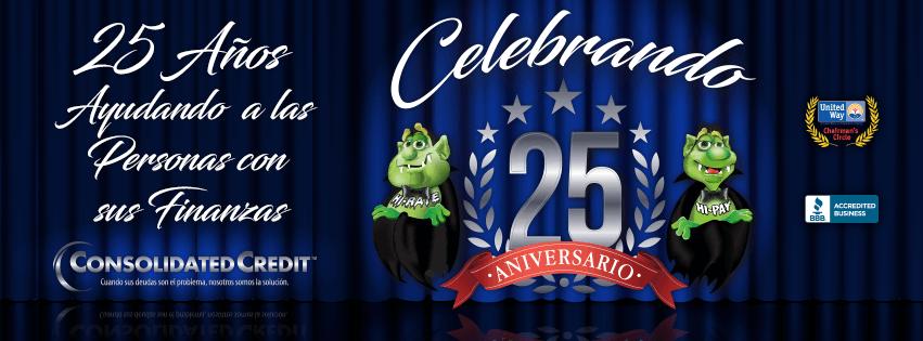 Consolidated Credit celebra 25 años
