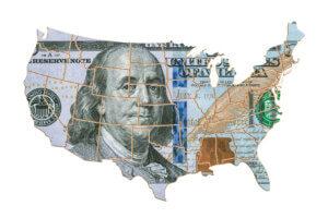 Deuda promedio de las tarjetas de crédito en Estados Unidos