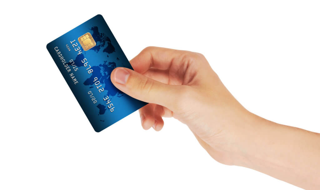 Usando Tarjeta de Crédito