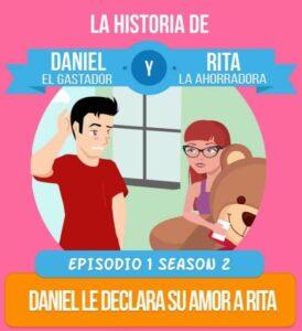 Daniel le declara su amor a Rita