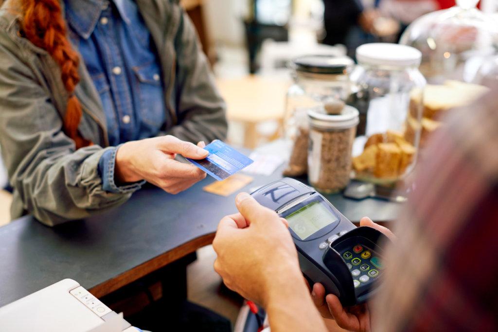 Transacción de tarjeta de crédito