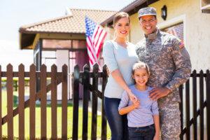 familia de veteranos