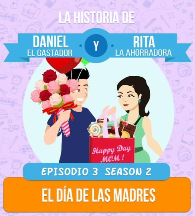 Daniel y Rita en el Dia de las Madres