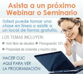 webinar and seminar schedule
