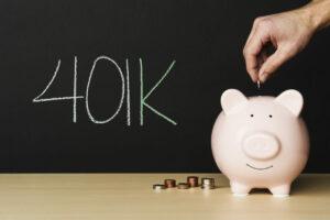 alcancía de cuentas 401 (k)
