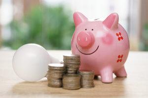 Alcancía para ahorrar energía en el hogar
