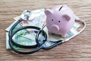 Alcancía para pagar el tratamiento del cáncer