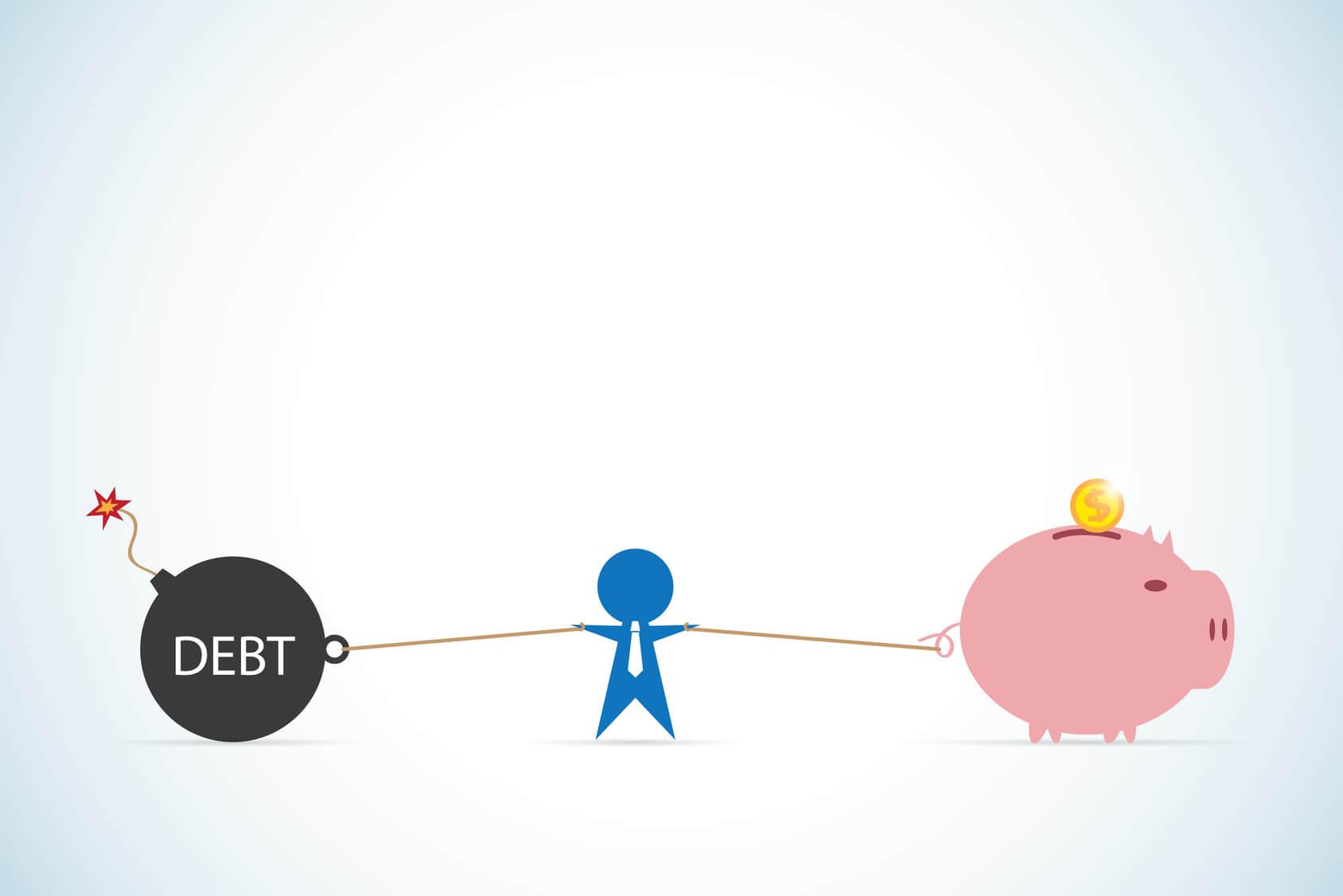 ¿Podrá vivir libre de deudas?