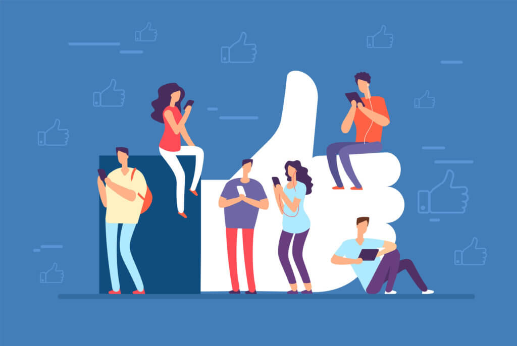 Vecinos en redes sociales