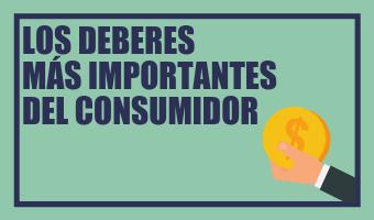 Infografía Deberes del Consumidor