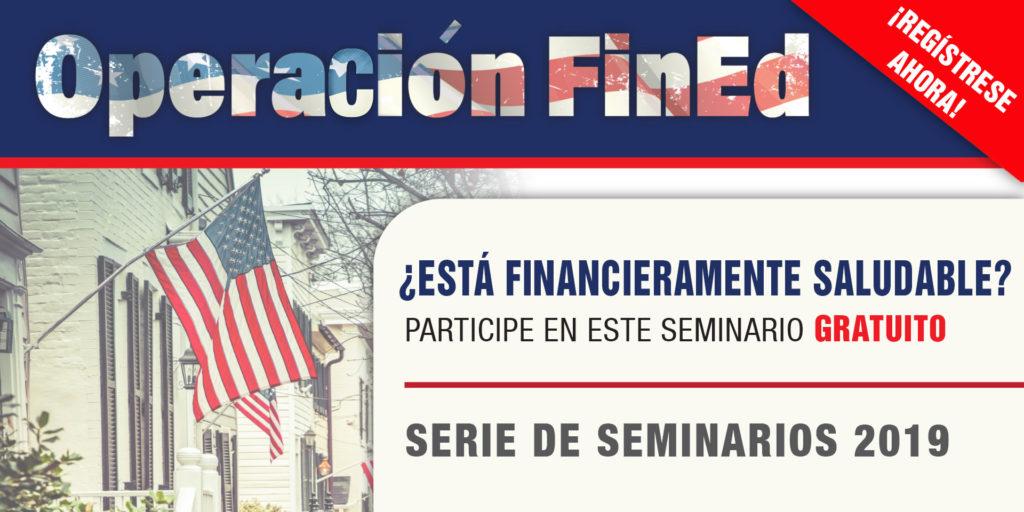 Invitación a seminarios de Consolidated Credit