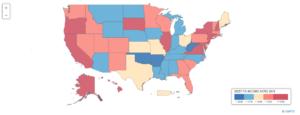 Relacion deuda ingreso en EEUU