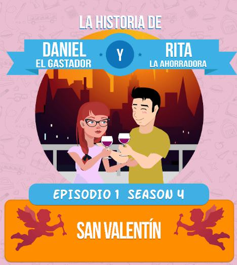 Daniel y Rita en San Valentin