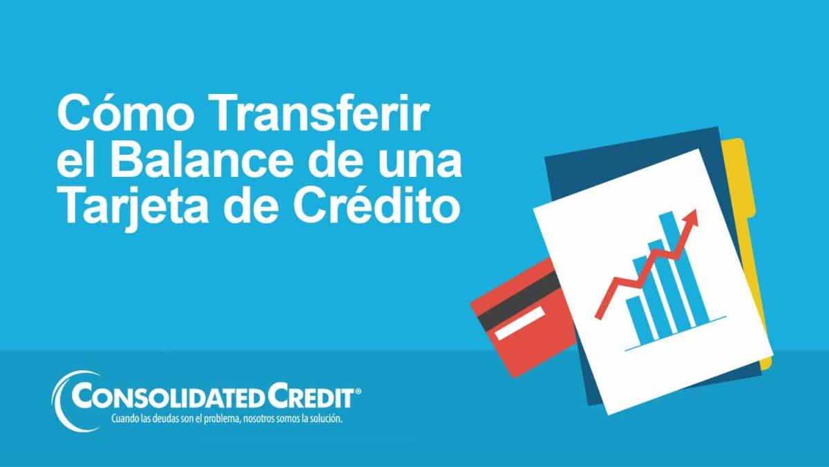 Cómo transferir el balance de una tarjeta de crédito