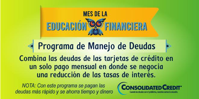 Con este programa se pagan las deudas más rápido y se ahorra tiempo y dinero.