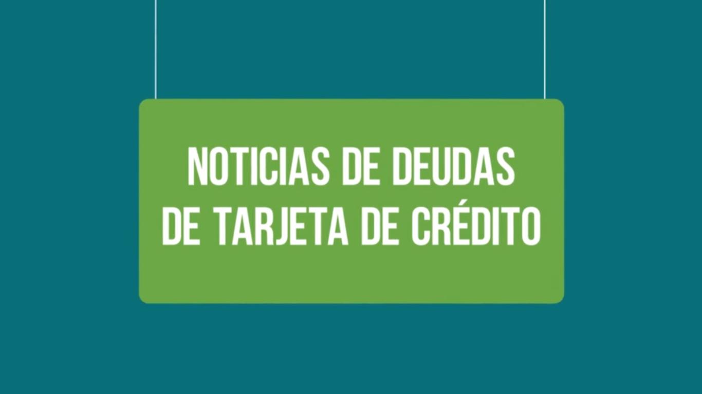 deuda de tarjetas de credito 2017