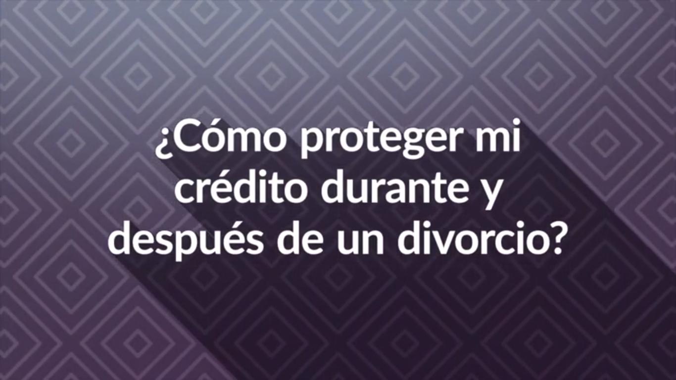 divorcio y credito