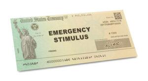 Asegúrese de que el cheque que recibe le ayude a superar la crisis.