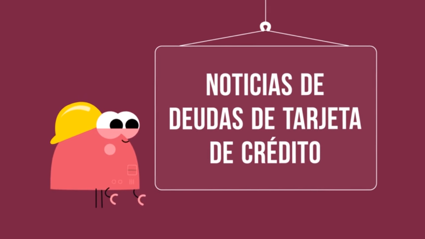 noti deuda de tarjetas de credito
