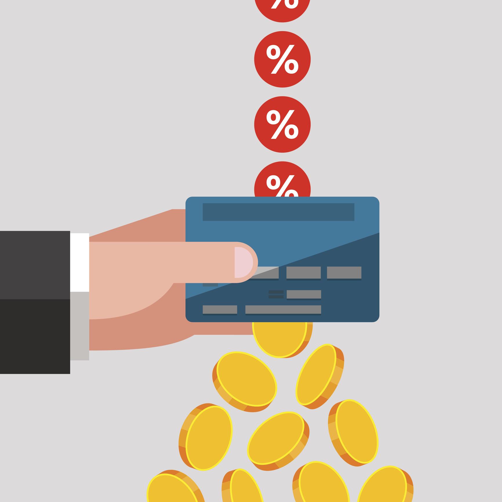 Si comienza un ciclo de facturación con un saldo pendiente, el acreedor aplica cargos por intereses a la deuda.