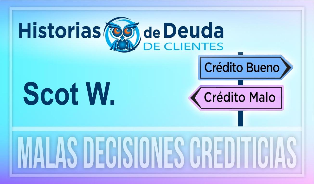Scot demostró que se pueden pagar $25,000 en deudas de tarjetas de crédito y préstamos personales a la vez.