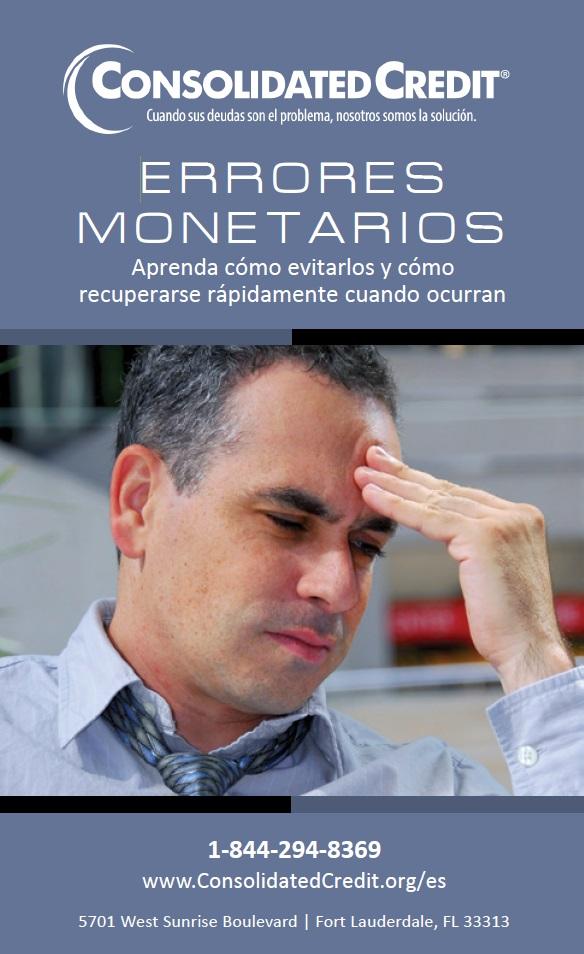 Errores monetarios