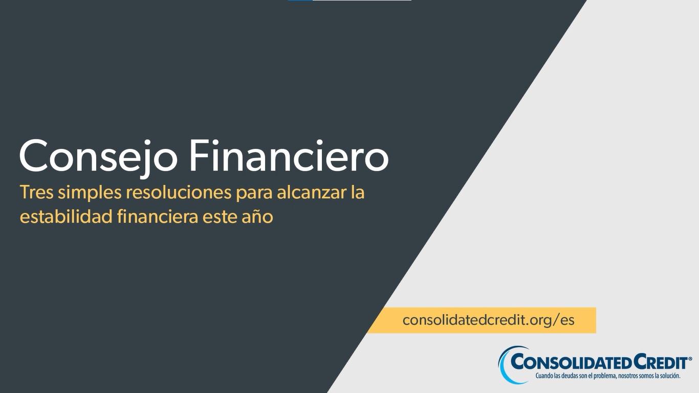Victoria Orrego nos sugiere algunas resoluciones financieras para retomar el control de sus finanzas en el 2021.