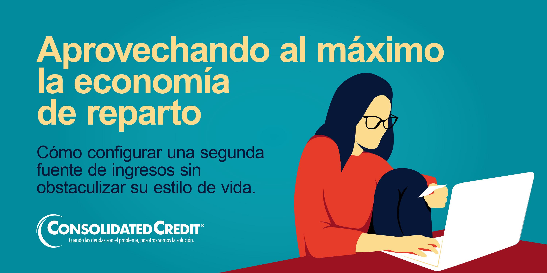 Acompáñenos el miércoles 15 de diciembre a la 1:00pm para aprender a aprovechar al máximo la economía de reparto.