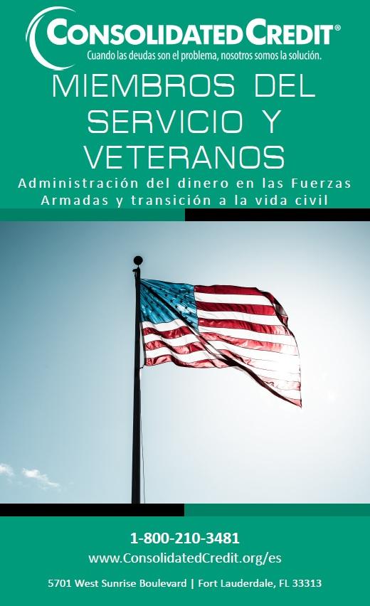 Esta guía ayuda a los miembros del servicio militar a administrar las finanzas familiares cuando le sirven al país.
