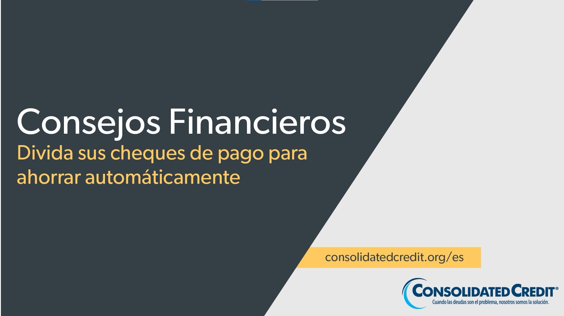 Victoria Orrego nos muestra por qué es una buena idea dividir su cheque de pago en diferentes cuentas para ahorrar automáticamente.